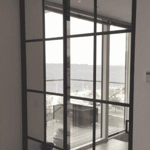 Newyorker-væg der giver udsigt, Svane Glas